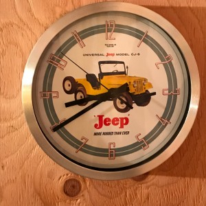 CJ5 Wall Clock